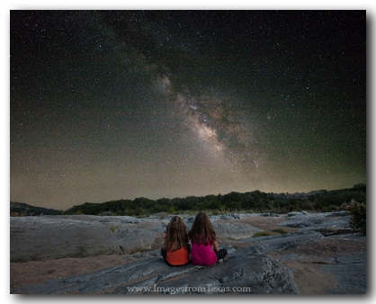 Little Girls under the Milky Way